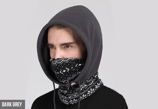 Hooded Neck Warmer - Four Colours Available