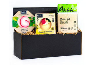 Kiwi Christmas Gift Set incl. Soaps, Bath Bomb & Bath Salts