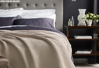 Canningvale Hawthorn Matelasse Duvet Cover Set with Free Delivery
