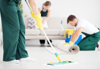 Three-Hour House Clean - Options for up to Five-Hours