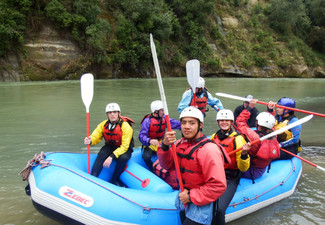 Two-Hour Family Rafting Tour with BBQ to Finish - Options for up to Eight People