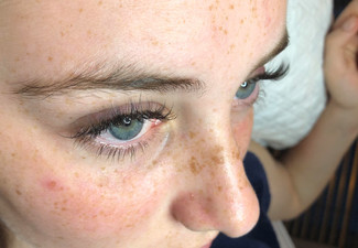 Natural Set of Silk Eyelash Extensions for One Person - Option for a Full Set & to incl. Infill