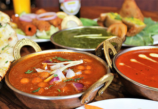 $40 Indian Cuisine Voucher for Two People - Options for up to Eight People