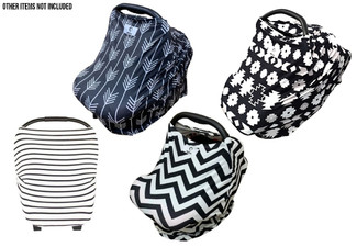 Neeva Four-in-One Baby Capsule Cover - Sour Styles Available
