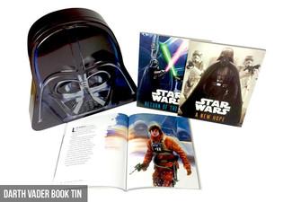 $24.99 for a Star Wars Darth Vader or R2-D2 Book & Tin Set (value $34.99)