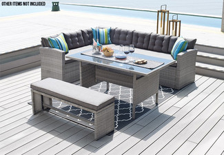 Outdoor Furniture Steel Catania Dining Set