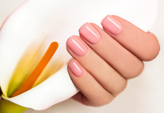 Express Manicure with Gel Polish - Options for Express Pedicure or Both