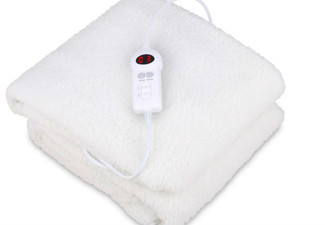 Fleece Electric Blanket - Four Sizes Available (Essential Item)