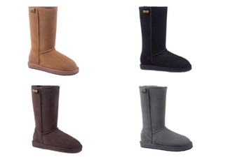 Auzland Unisex 'Chase' Classic Australian Sheepskin Tall Water-Resistant UGG Boots - Four Colours & Seven Sizes Available