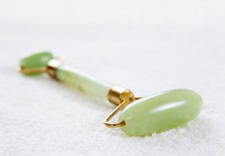 Natural Jade Massage Roller - Option for Two