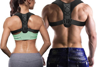 Neoprene Adjustable Back Posture Support