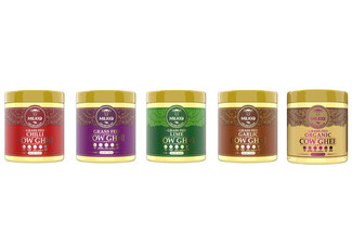 One Original Grass-Fed Ghee Butter - Choose from Chilli,Lime, Garlic, Organic- Option for Three-Pack or Mixed Pack