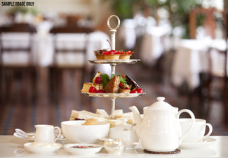 European High Tea for Two People incl. Tea or Coffee - Option to incl. Bubbles