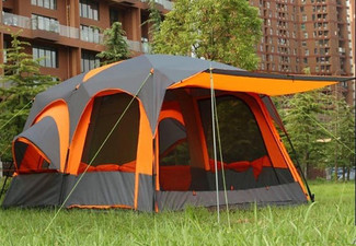 10-Person Camping Tent