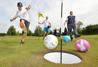 Round of Foot Golf for Two Adults - Options for Family or Groups Available