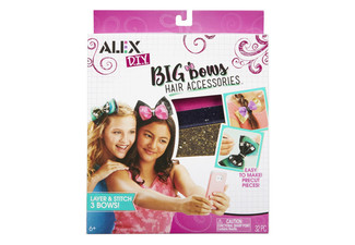 Alex DIY Big Bows Hair Accessories Kit