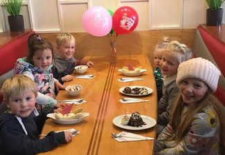 All-Inclusive Kids Birthday Party for Eight Children incl. Main Meal, Drink & Dessert with a Party Bag Each