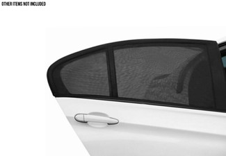 Two-Pack of Car Window UV Protection Covers