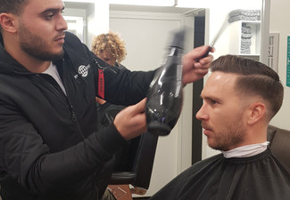 Men's Buzz Cut - Options for Skin/Zero Fade, Style Cut & to incl. Beard Tidy