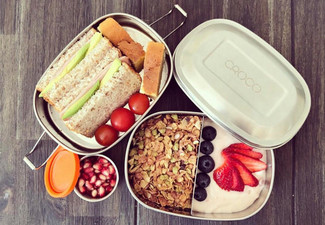 Stainless Steel Lunch Box Stacker & Pod