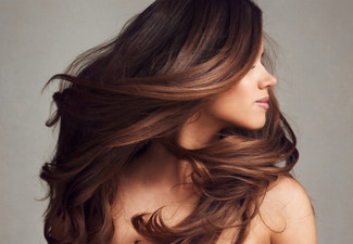 Style Cut, Hair Treatment & Blow Dry incl. a $20 Return Voucher - Options to incl. Base Colour, Half-Head Foils, Ombre & More