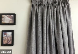 Blockout Thermal Curtains - Two Colours & Eight Sizes Available