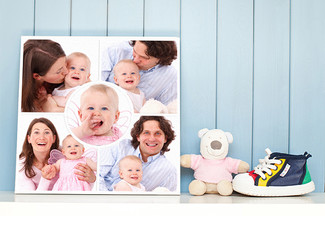 30 x 30cm Large Square Canvas incl. Nationwide Delivery - Options for up to 100 x 100cm Canvas