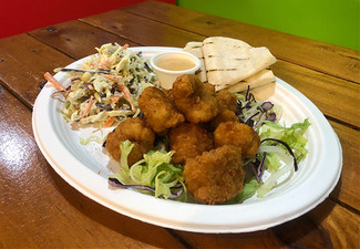Authentic Mexican Dish for One Person - Choose from Calamari, Paella, Two Tacos, or Two Empanadas