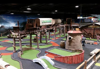 One Round of Indoor Mini Golf for One Person - Options for up to Six People - Valid Monday to Sunday