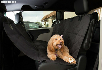 Pet Car Back Seat Cover - Option for Two