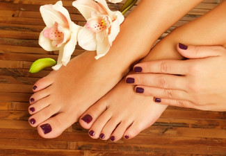Spa Pedicure incl. Polish - Option for Gel Polish