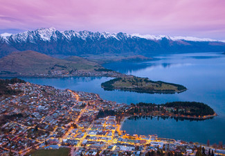 Four Star, One-Night Queenstown Getaway for Two People in a Standard Room incl. Welcome Drink, Express Start Breakfast, Unlimited Wifi, Parking, Late Checkout - Options for Two or Three Nights incl. Apres-Ski Voucher