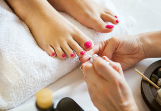 Luxury Pedicures - Option for Nail Polish & Gel Polish