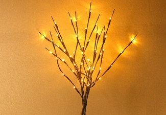 LED Tree Branch Decor Light - Options for up to Three with Free Delivery