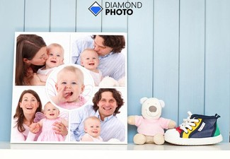 30x30cm Large Square Canvas incl. Nationwide Delivery - Options for up to 100x100cm Canvas