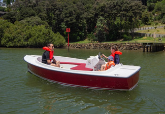 Electric Boat Hire for up to 13 People - Six Options Available