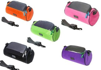 Bicycle Handlebar Water-Resistant Bag - Available in Five Colours