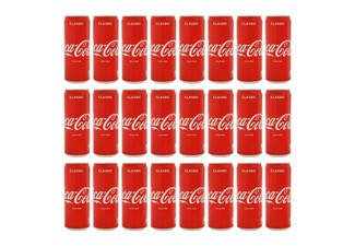 24-Pack Soft Drink Range - Four Flavours Available