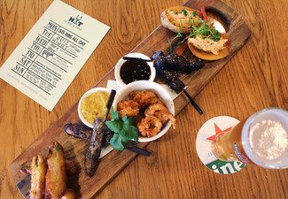 Horse & Trap Tasting Platter with Two Drinks for Two People - Valid from 19th December