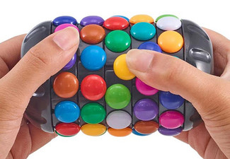 Mind-Bending Rainbow Puzzle Toy with Free Delivery