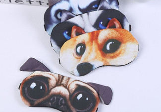 Kids 3D Cartoon Animal Sleep Eye Mask - Seven Styles Available
