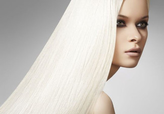 Keratin Hair Straightening Treatment - Option for Two Treatments Available