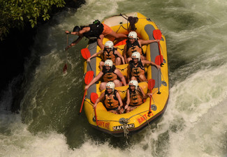 3.5 Hour Kaituna River White Water Rafting Experience for One incl. Online Photo Pack - Options for Up to Six People