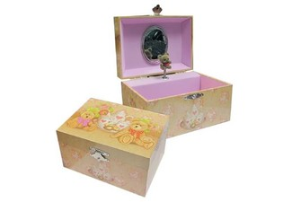 Teddy Bears Picnic Musical Jewellery Box with Free Delivery