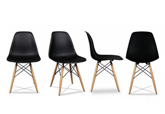 $35 for a Retro Chair with Wooden Legs - Available in Five Colours