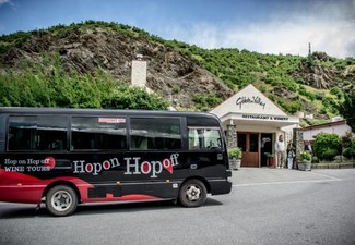 Full-Day Ticket for the Original Hop On-Hop Off Wine Tour Between Queenstown & Gibbston Valley