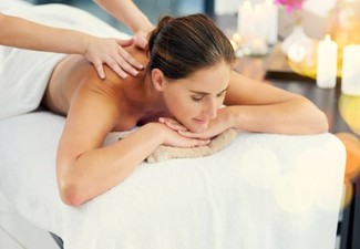 60-Minute Aromatherapy Massage - Options for Back Massage, Hot Stone Massage, Aromatherapy Facial & to incl. Take Home Aromatherapy Oil