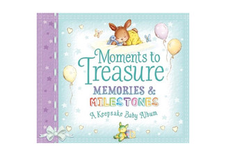 Moments to Treasure Baby Album & Milestone Cards