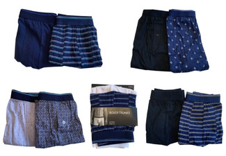 Two-Pack of Degree Boxer Trunks - Three Sizes & Five Styles Available