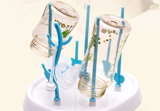 One Baby Bottle Drying Rack - Option for Two Available with Free Delivery